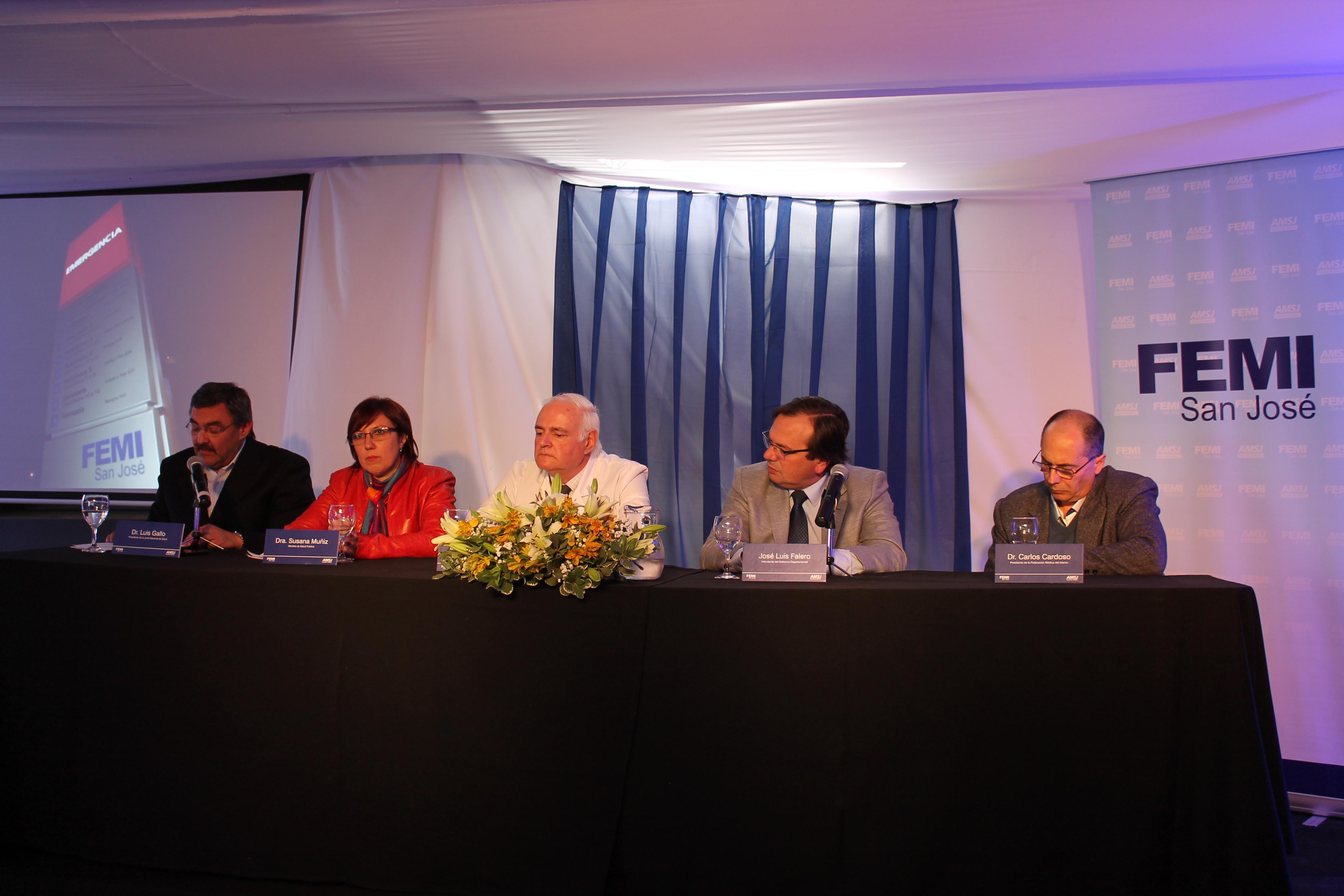 Parte del discurso del Dr. Baltasar Aguilar al inaugurar la nueva emergencia