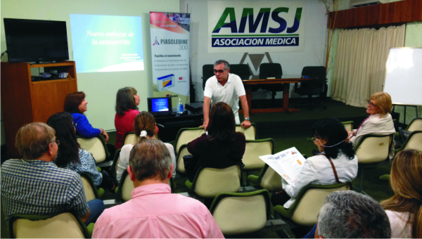 La Artrosis fue abordada por nuestros profesionales en una Jornada de Actualización en Reumatología
