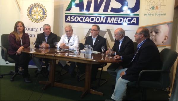 Cena solidaria en apoyo a la Fundación Dr. Pérez Scremini se lanzó en la Asociación Médica FEMI San José