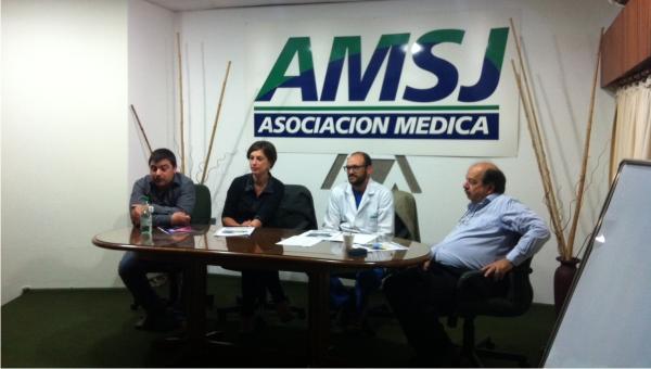 Un curso taller sobre gastroenterología se desarrolló en la sala de conferencias de la institución con la presencia de los principales referentes de la especialidad