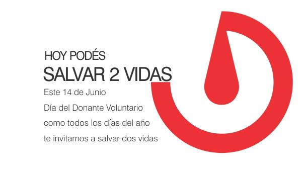 Donar sangre, un regalo que permite salvar vidas humanas