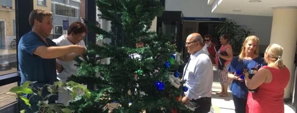 El árbol navideño más lindo del mundo